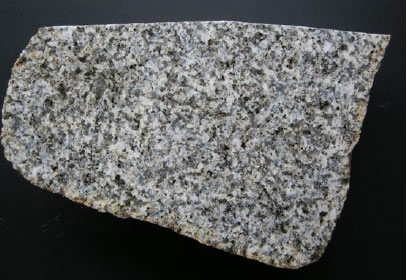 A granite erratic from south-west Scotland, much paler than the Eskdale granites