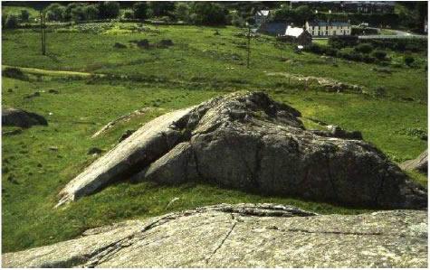 Roche moutonnee