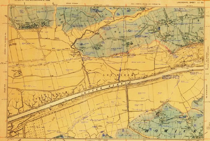 BGS Six Inch Geological map number Lancashire Sheet 60SE from about 1929 (BGS archive)